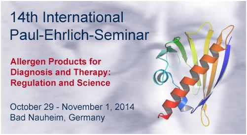 11/2014. 14th Paul-Ehrlich Seminar