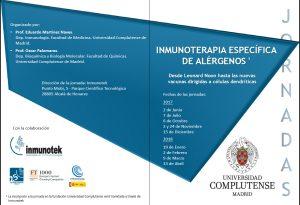 06/2017. Jornadas Inmunoterapia