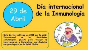 04/2017. Dia Internacional de la Inmunologia