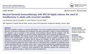 Mucosal bacterial Inmunologia