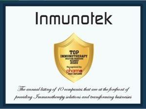 Top-ten PTO Inmunotek